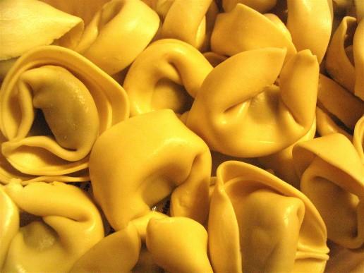 Tortellini is Bolognese specialty. Photo by Scott Feldstein