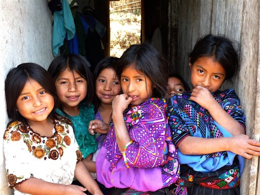 Children in rural guatemala. Photo courtesy of Roots and Wings International vis Flickrcc